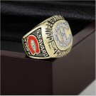 1986 NHL Montreal Canadiens Stanley Cup Championship Ring Size 10 With High Quality Wooden Box