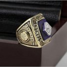 1980 New York Islanders NHL Hockey Stanely Cup Championship Ring 12 size with cherry wooden case