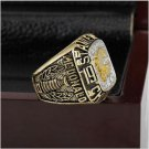 1989 Calgary Flames NHL Hockey Stanely Cup Championship Ring 10-13 size with cherry wooden case