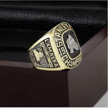 1996 NHL Colorado Avalanche Stanley Cup Championship Ring Size 10-13 With High Quality Wooden Box