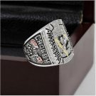 2009 NHL Pittsburgh Penguins Hockey Stanley Cup Championship Ring Size 10-13 WithWooden Box