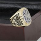 1999 New York MLB World Series Baseball Championship Ring Size 10-13 With High Quality Wooden Box