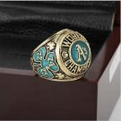 1974 Oakland Athletics MLB World Series Baseball Championship Ring Size 10-13 With Wooden Box