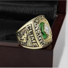 1989 Oakland Athletics MLB World Series Baseball Championship Ring Size 10-13 With Wooden Box