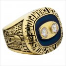 1973 Miami Dolphins NFL Super Bowl FOOTBALL Championship Ring 7-15 Size Copper Engraved Inside