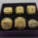 6PCS 2000 2001 2002 2009 2010 2016 Los Angeles Lakers Basketball Championship rings 10 US