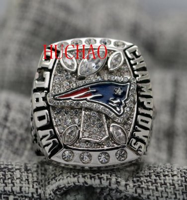 2017 New England Patriots super bowl championship ring 8 S for Tom Brady