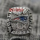 2017 New England Patriots super bowl championship ring 8-14 S for Tom Brady