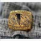 1998 Atlanta Falcons NFC FOOTBALL Championship Ring 7-15 Size Copper solid high quality one