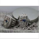 2016 New England Patriots FOOTBALL Championship Necklace and ring set copper solid
