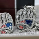 2016 2017 New England Patriots super bowl Championship ring and Necklace  rings and Necklace