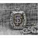 2014 San Francisco Giants MLB World Seires Championship Necklace with steel Chain 22-23 inches