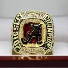 2016  Alabama Crimson Tide SEC COLLEAGUE National Championship Ring 7-15 Size