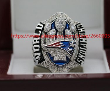 2017 Drop shippping Pre-sale order New England Patriots super bowl Championship Ring 10 Size