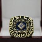 1991 FLORIDA GATORS SEC NCAA FOOTBALL National Championship Ring 7-15 Size