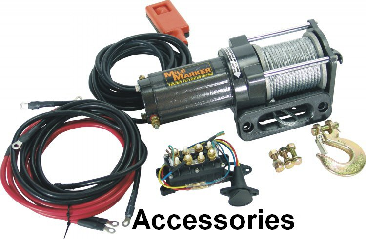 """New WPS Electric 12V Heated Rubber Grips for 7/8"""" Bars ATV or Snowmobile 40-4130"""
