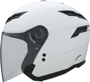 New Size 3XL Pearl White GMax GM67 Open Face Helmet DOT Motorcycle ATV