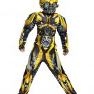 Size 10-12 TRANSFORMERS - BUMBLEBEE MUSCLE COSTUME FOR CHILDREN  SWWHC883065