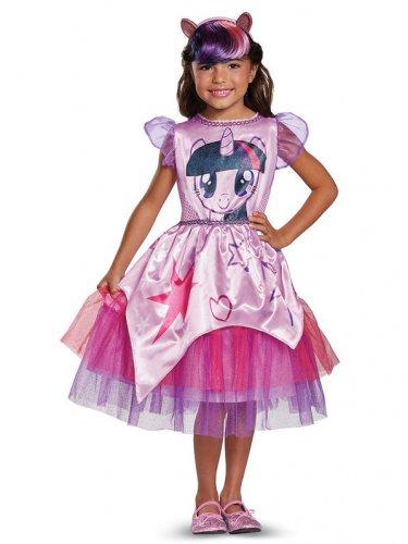 Size 7-8 MY LITTLE PONY: TWILIGHT SPARKLE CLASSIC CHILD COSTUME  SWWHC882728