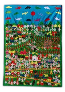 Wall Hanging Poster (Green)