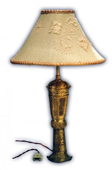 Dhocra Lamp Base (1)
