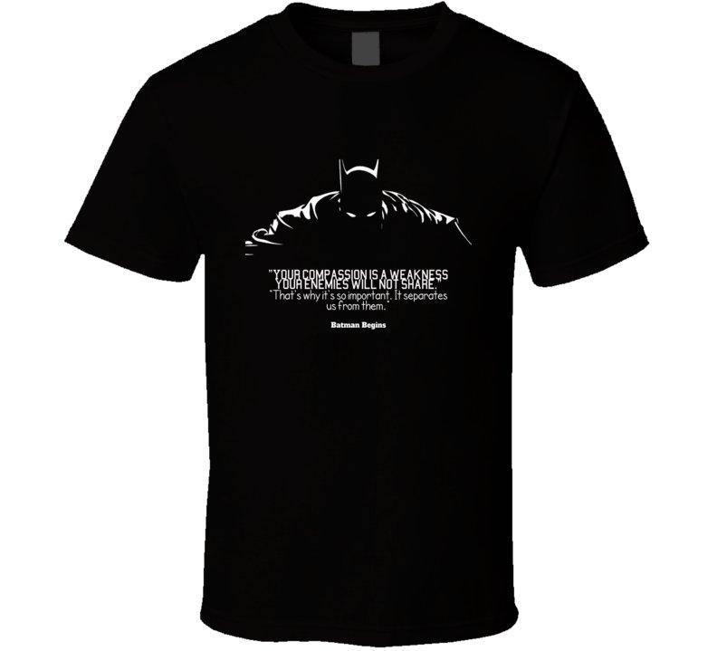 Batman Quotes T Shirt