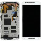 White Motorola Moto X 2nd Gen XT1092 XT1097 LCD Touch Screen Digitizer + Frame
