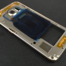 US OEM Gold Samsung Galaxy S6 Edge G925P G925V Mid Housing Frame + Camera Lens
