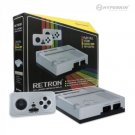 Retron 1 NES System Top Loader Silver + 2 Controllers Nintendo Console NEW