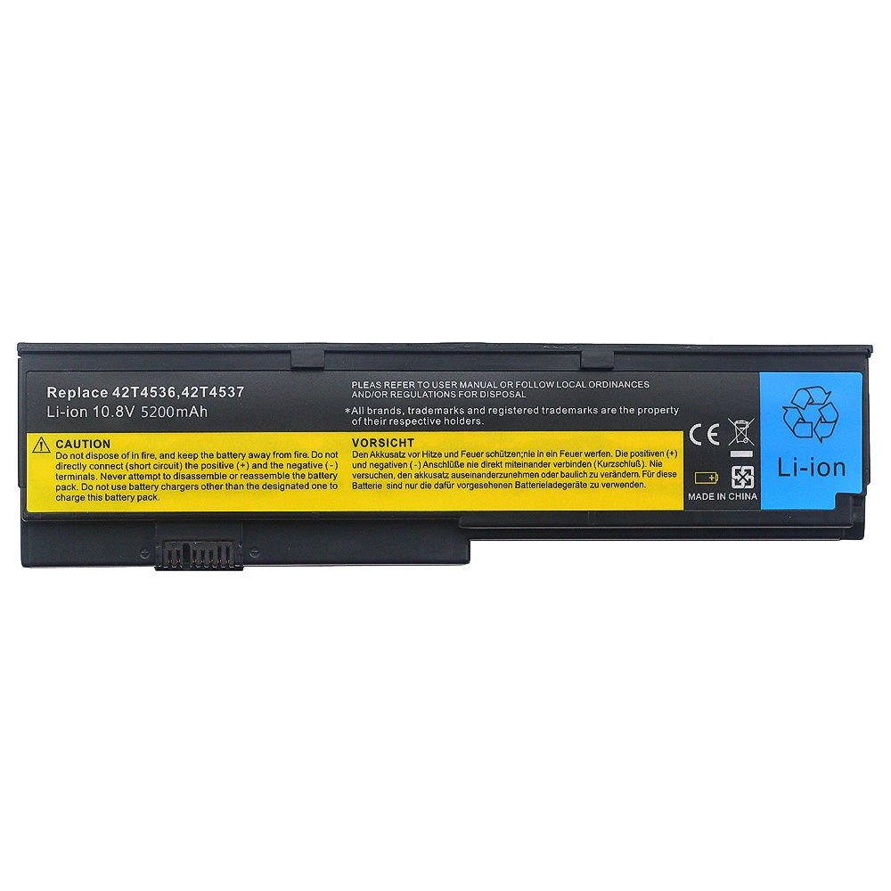 6 cell laptop Battery For Lenovo ThinkPad X200 X201i X200S X201S 42T4534