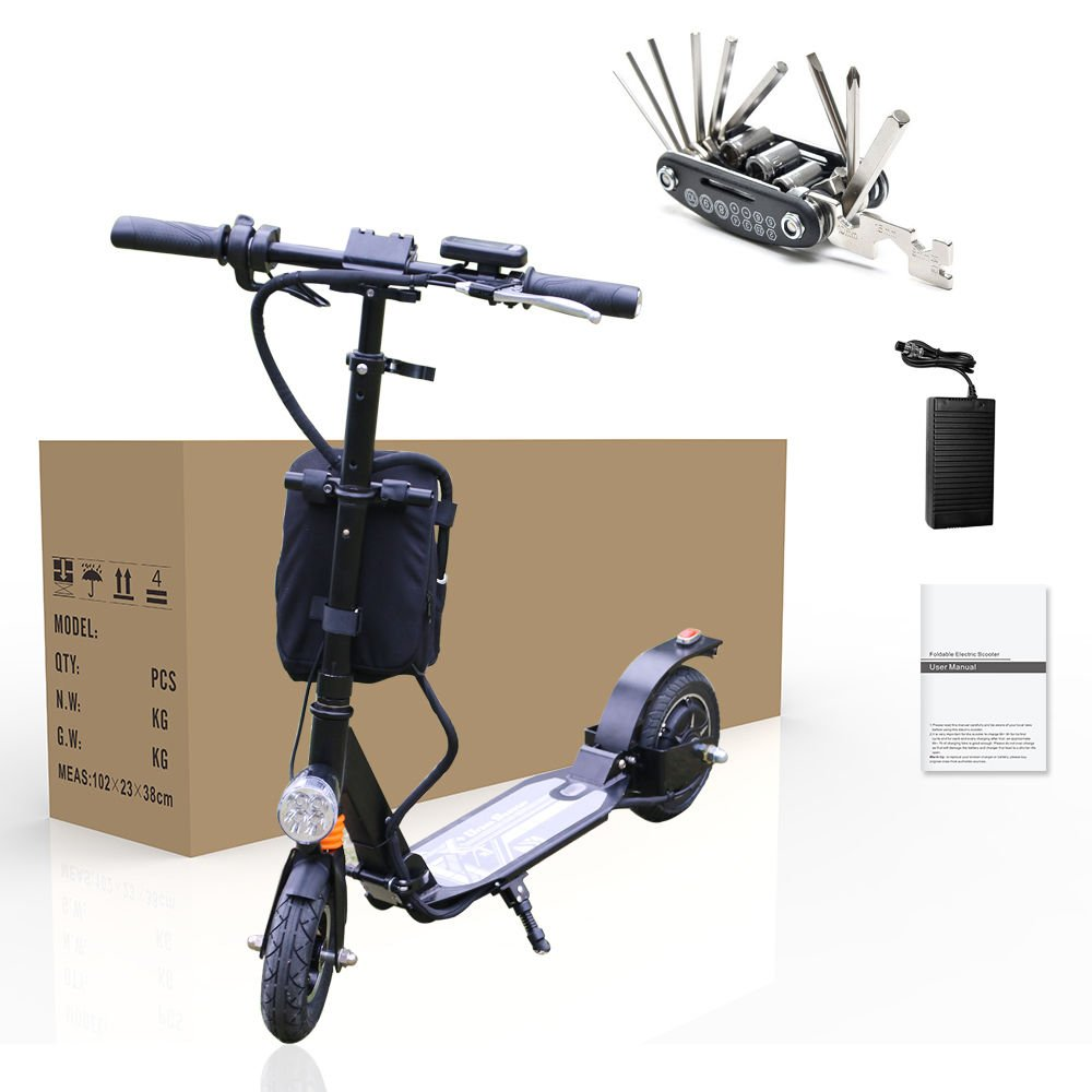 Electric Motor Scooter Turbo Scooter Folding Portable motorized bike E-Scooter