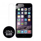 for iPhone 7 / iPhone 6/6S Tempered GLASS Screen Protectors (2 Pack) Bubble Free