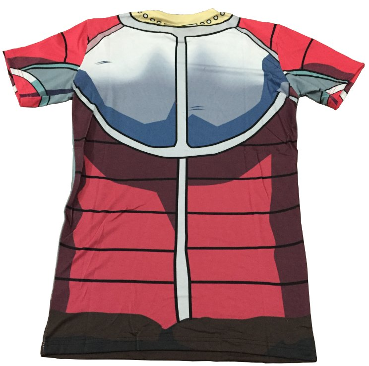 King Vegeta Skin Gear Armour 3D T-Shirt