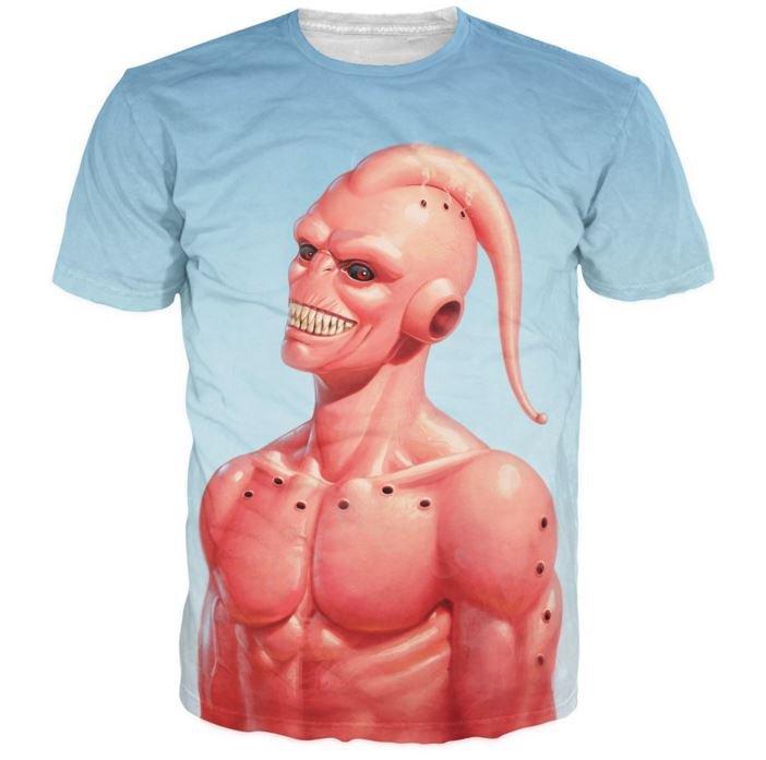 Dragon Ball Z � Cool Super Buu Evil Majin Buu 3D T-Shirt