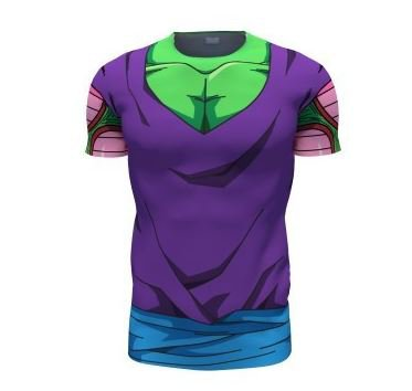 DBZ Piccolo Green Man 3D Skin Gear Cosplay T-Shirt