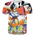 Dragon Ball Z Illustration Vegeta Prince of all Saiyans T-Shirt