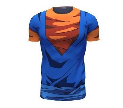 Vegetto Vegito Goku Vegeta Fusion 3D T-Shirt
