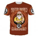 Master Roshi Gym Bro Do You Even Kamehameha Funny T-Shirt