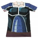 Space Pirate Saiyan Turles Battle Suit Armor 3D T-shirt