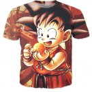 Kid Goku Dragon Ball 7 Stars Cute 3D Print T-Shirt