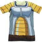 DBZ Vegeta Saiyan Armor Suit Battle Jacket 3D T-shirt