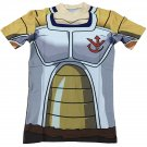 Saiyan Royal Crest Kid Vegeta Saiyan Armor 3D T-shirt