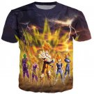 Frieza Super Saiyan Aura Goku Vegeta Gohan Trunks Piccolo T-Shirt