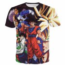 Z-Fighters Dragon Ball Z Heroes Characters Astonishing 3D T-Shirt
