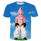 Ultimate Kid Buu Dragon Ball Super Sky Blue Premium 3D Shirt