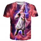 Majin Ultimate Mighty Kid Buu Tie Dye Lightning Amazing 3D T- Shirt