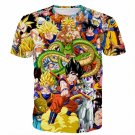 Dragon Ball Super Characters Heroes Goku Shenron Graphic 3D T- Shirt