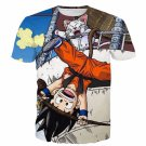 The Naughty Kid Goku and Korin Wise Cat Dragonball T- Shirt