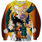 Goten Trunks Gotenks Super Saiyan 3D Sweatshirt