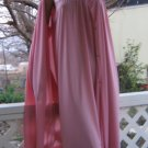 Silky no frill vintage Vanity Fair Nightgown Peignoir Set M L